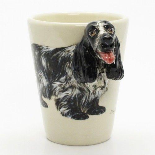 English Cocker Spaniel Dog Lover Mug 00003 Handmade 3d Cup Gifts