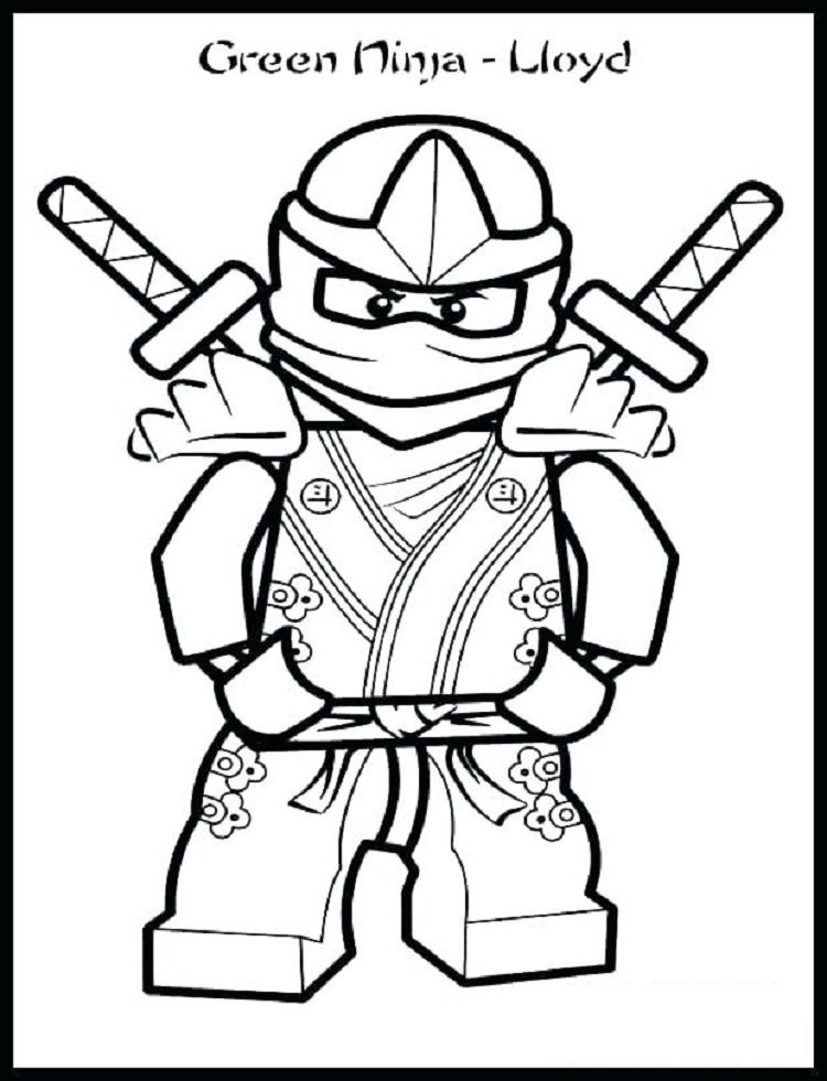 ninjago blue ninja coloring pages | Coloring Pages For Kids in 2018 ...