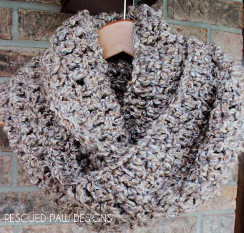 Simple Crochet Cowl | Schals tücher, Tücher und Schals
