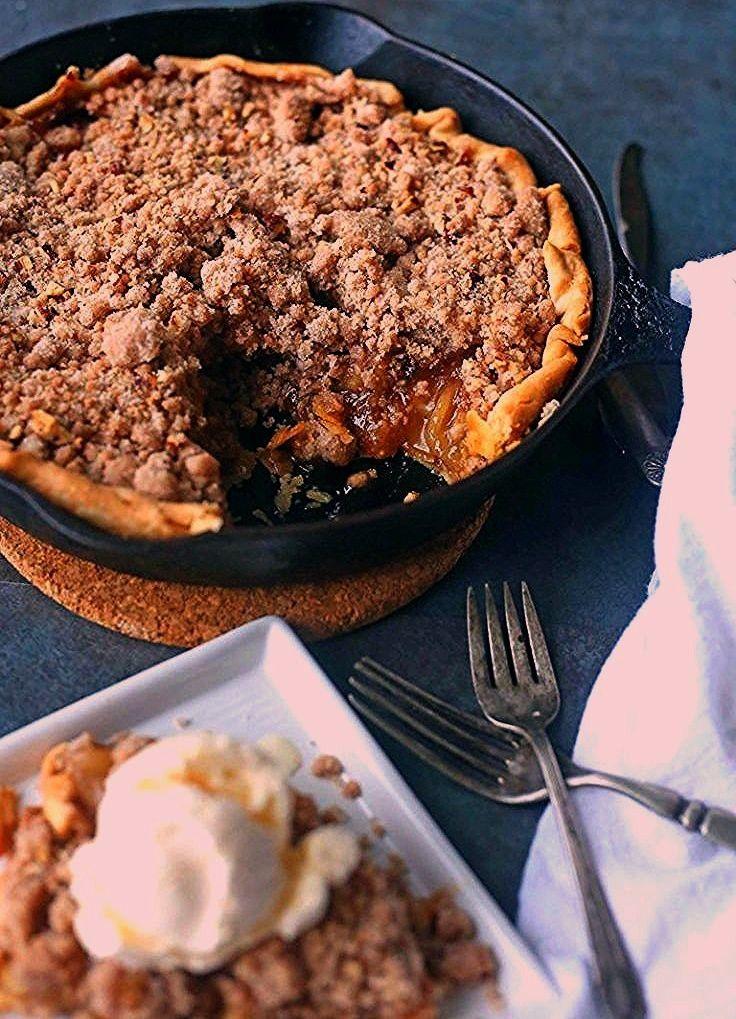 Dutch Apple Pie Rezept | Brown Sugar Food Blog -Pfanne Dutch Apple Pie Rezept | Brown Sugar Food Bl