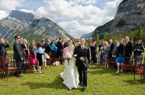 Three Jaw Dropping Indoor Banff Wedding Ceremonies: Lodge Wedding, Canoe Wedding, Wedding