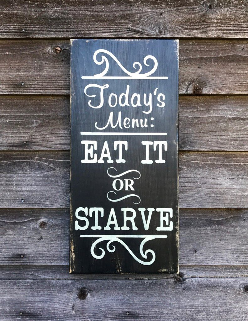 Country Decor Signs Captivating Kitchen Sign Funny Kitchen Sign Kitchen Menu Sign Hand Painted Inspiration Design