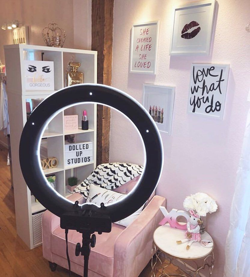 "Lash Room Decor on Instagram: ""4 essentials of a selfie wall... -"