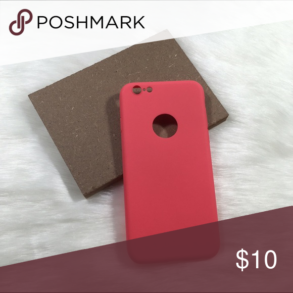 Solid plain red iPhone 6 6s case  Brand new boutique items  Solid plain color  iPhone 6 6s case  Also available in other colors! Check out my closet.  Photos are my own, please do not steal  If you have any questions, please do ask!       Flovvers Boutique Accessories Phone Cases
