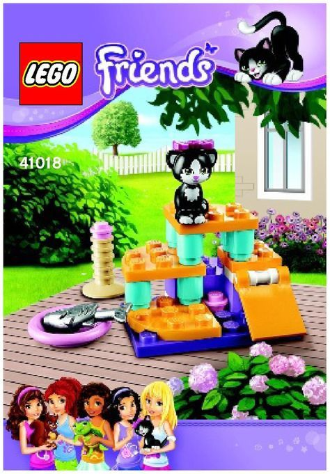 Friends Cats Playground Lego 41018 Lego Friends Pinterest