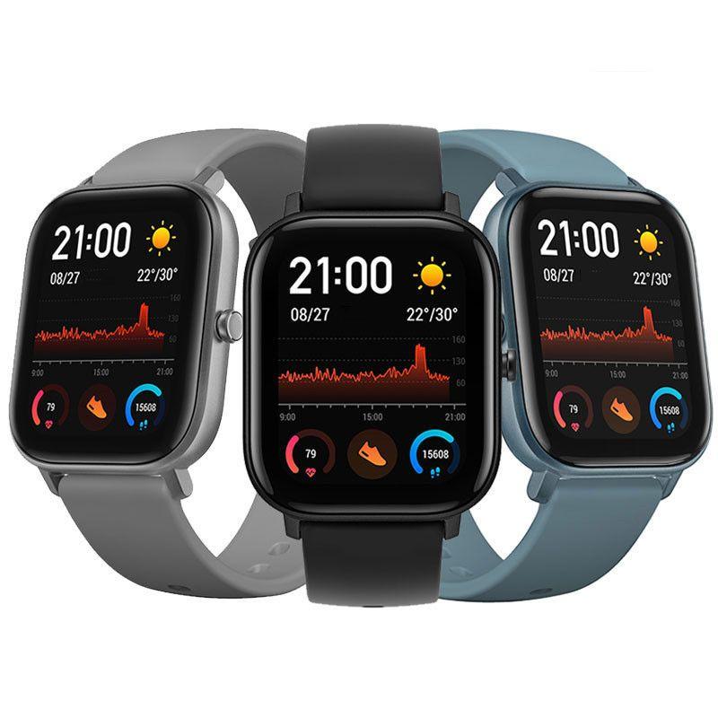 Bluetooth 5 0 Amazfit Gts 341 Ppi Amoled Screen Bt5 0 Wristband Gps Glonass Light Weight 5atm Waterproof Smart Watch Smart Wearable Device From Consumer Electr In 2020 Uhren