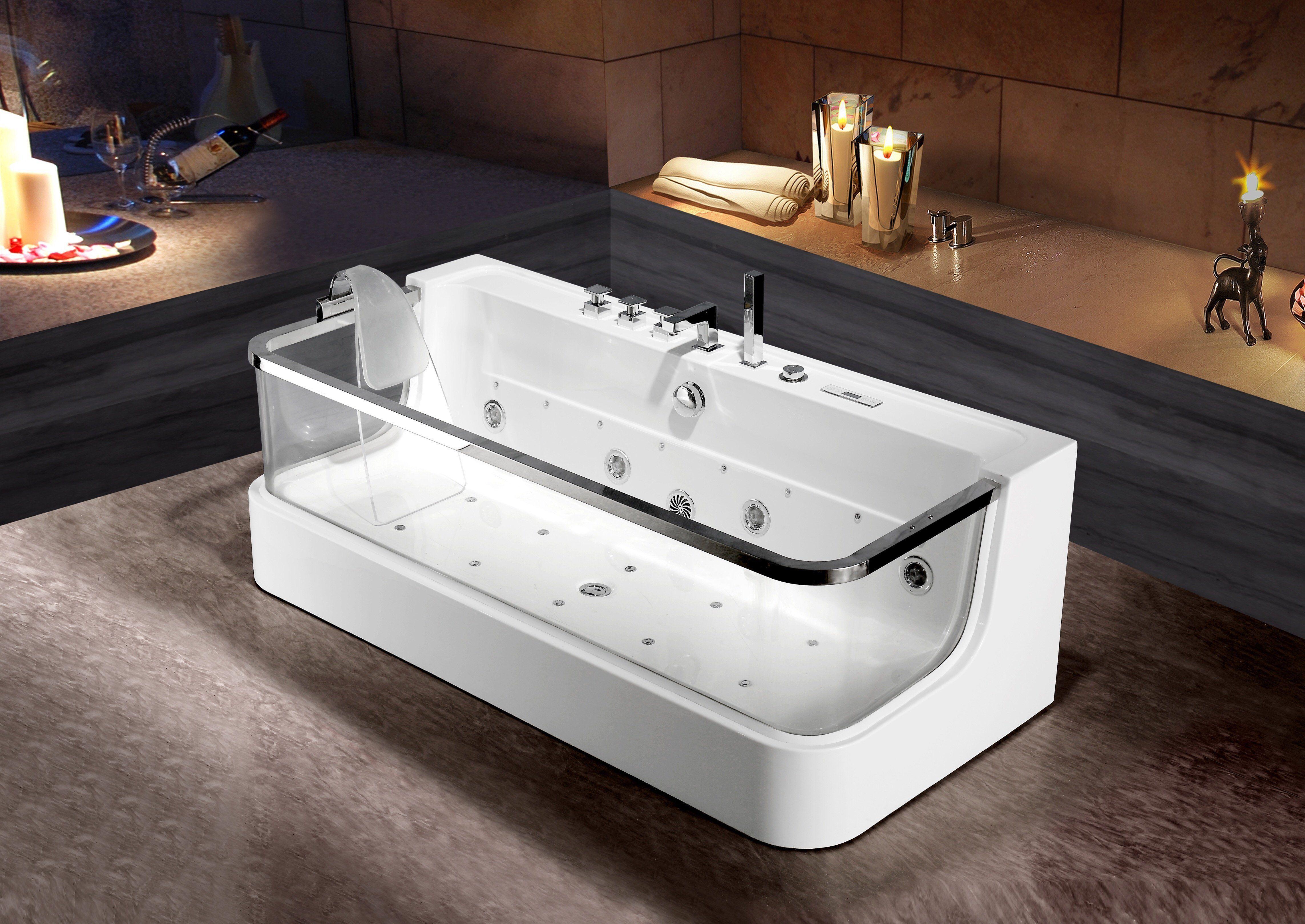 Rubeza C-451 Whirlpool Luxury Massage Jets Bathtub – RUBEZA ...