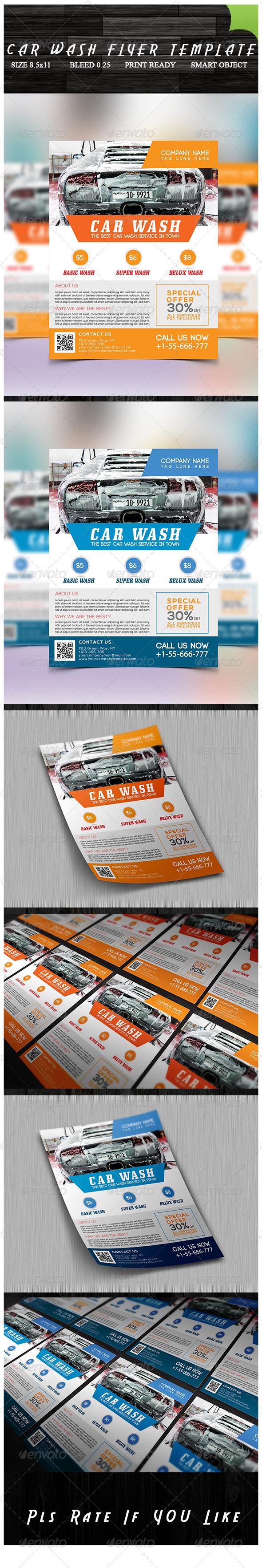 Car Wash Flyer | Lavado de auto, Lavar y Lava