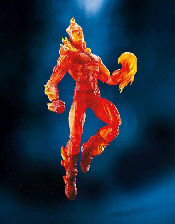 "Torche humaine Hasbro QUATRE FANTASTIQUES Marvel exclusives Legends 2017 6/"" inch Figure"