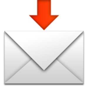 Envelope With Downwards Arrow Above Emoji Iphone Symbols