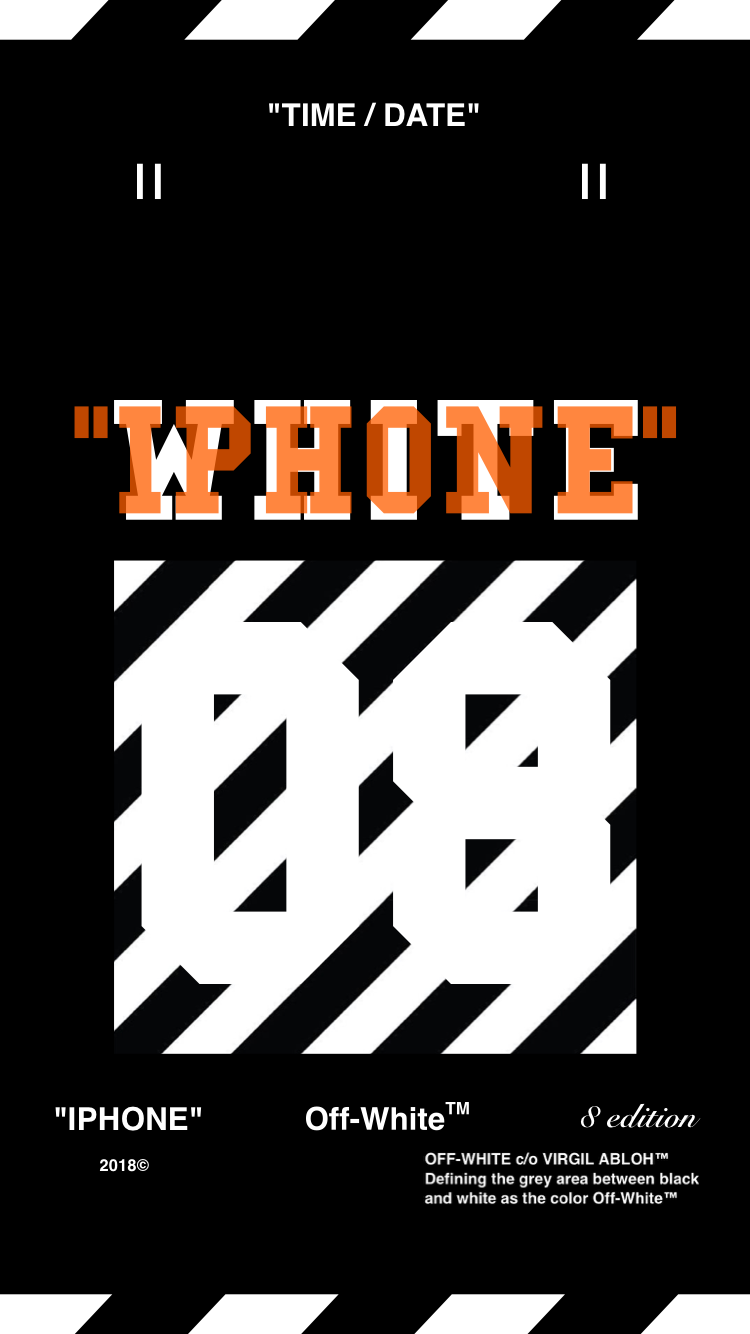 Off-White™WALLPAPER IPHONE 壁紙 18/4/20-22