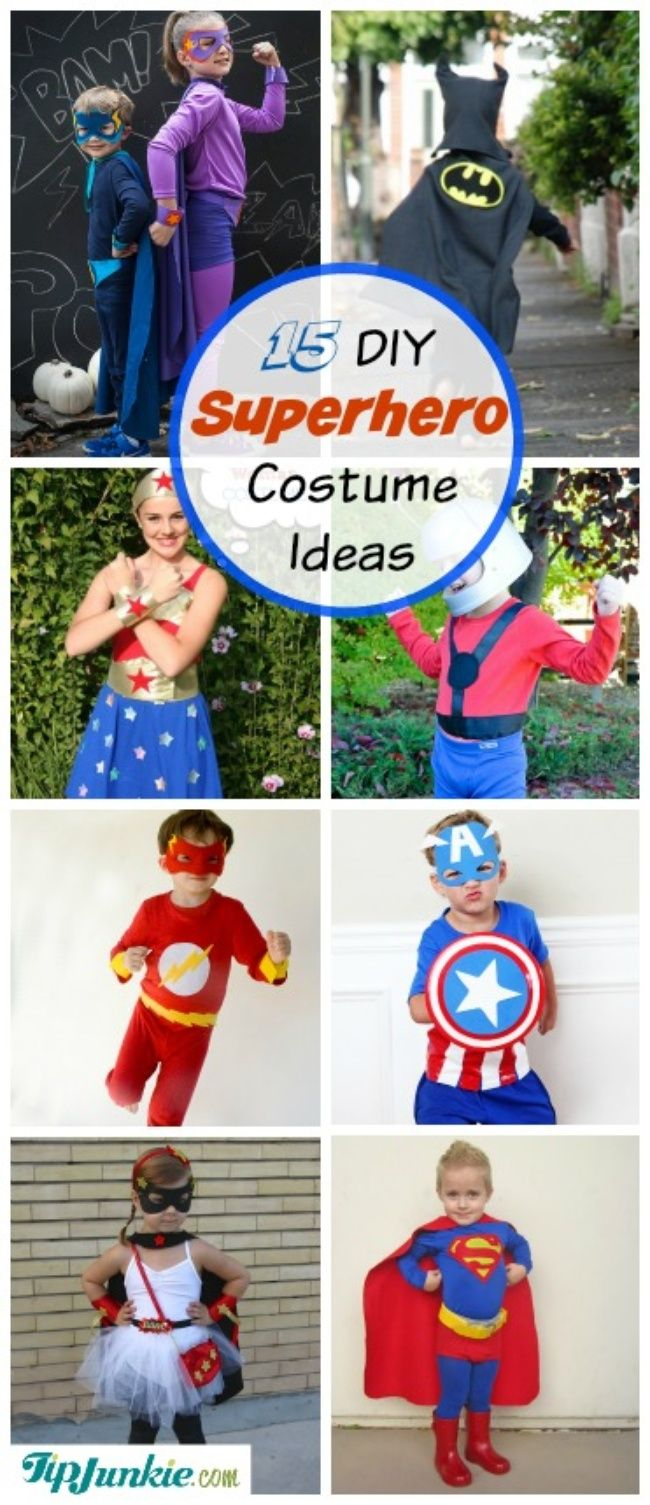 15 diy superhero costume ideas superhero costumes and halloween 15 diy superhero costume ideas solutioingenieria Choice Image