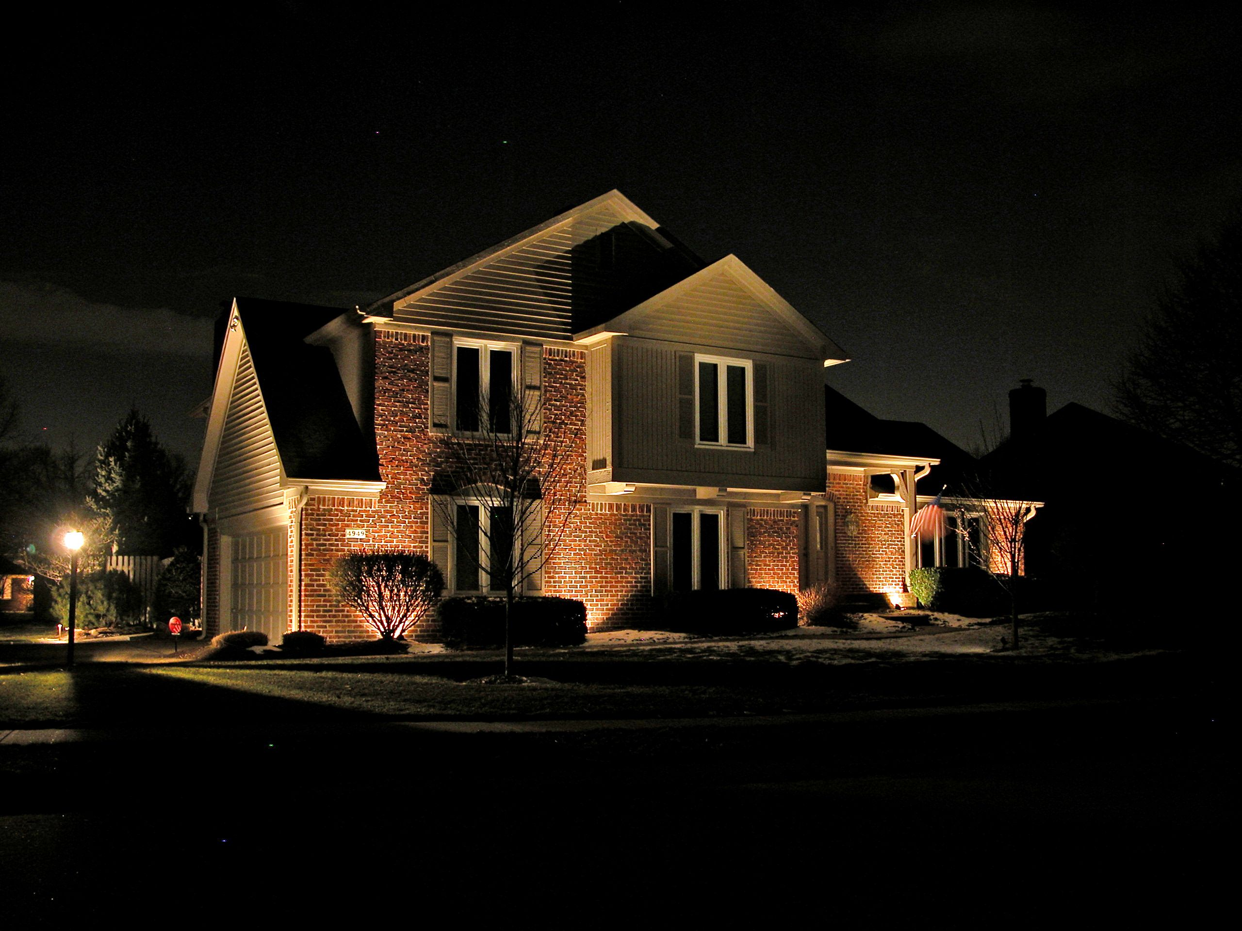 Exterior soffit lighting fixtures design home for Exterior lighting design