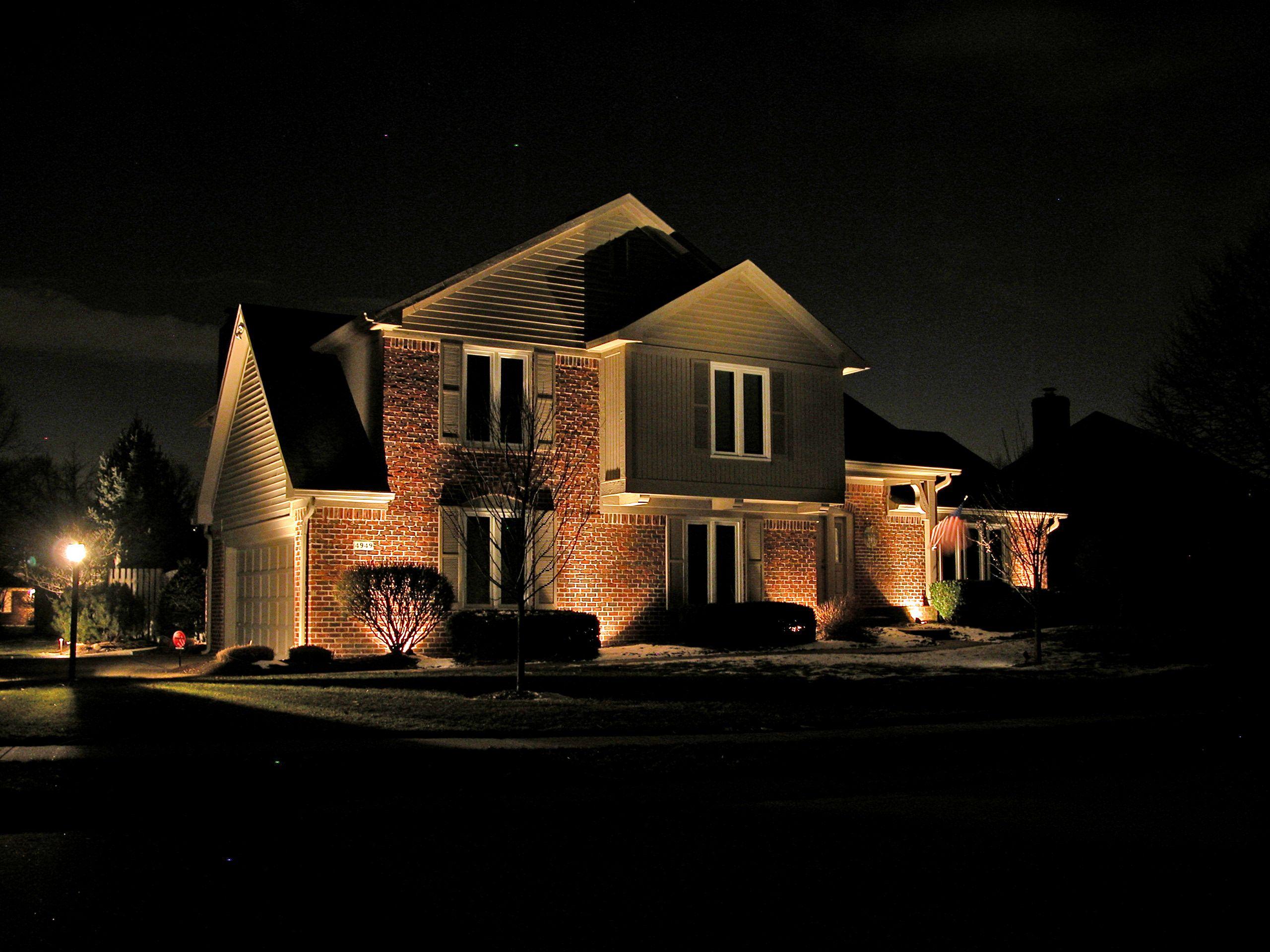 Exterior Soffit Lighting Fixtures Design   Home ...