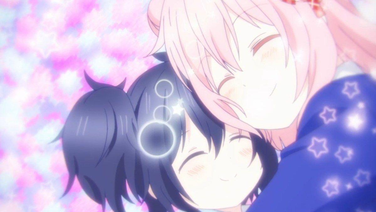 Anime Series Like Happy Sugar Life Anime Anime Girlxgirl A Hat In Time