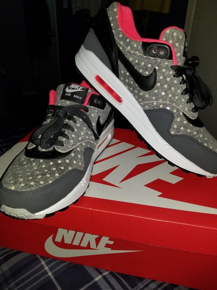info for 45c0a 67fd6 Nike Air Max 1 Premium Polka Dot Used Size 11 Atmos 95 90 97  fashion   clothing  shoes  accessories  mensshoes  athleticshoes (ebay link)
