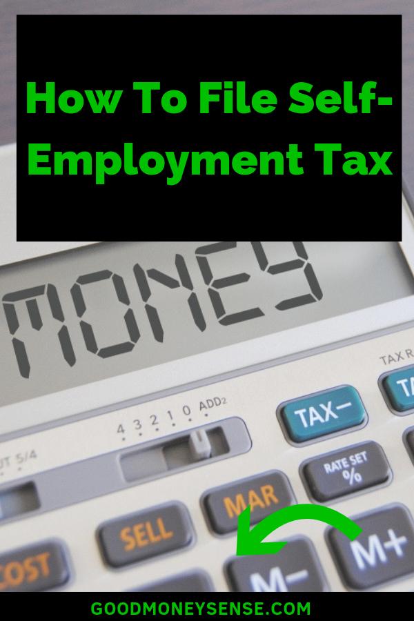 Best Tax Calculator 2019 Self Employment Tax Calculator for 2019 | Best of Good Money Sense