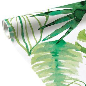 Intissé JUNGLE FEVER coloris blanc | Papier peint, Intissé, Papier peint tropical