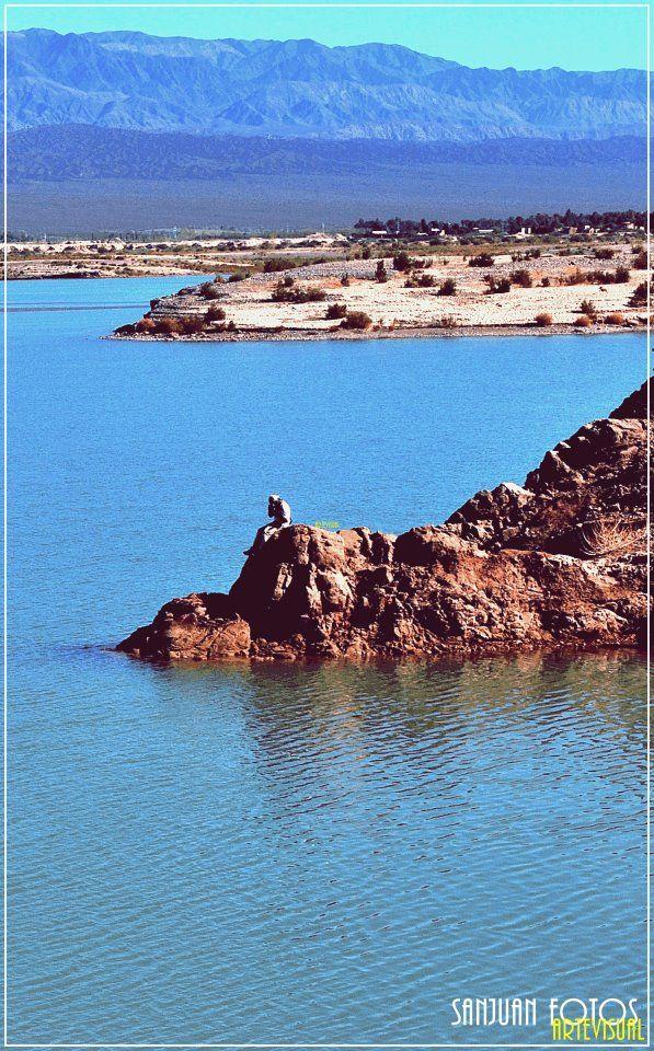 Ullum. San Juan. Argentina -- kind of reminds me of Sand Hollow Reservoir in Southern Utah