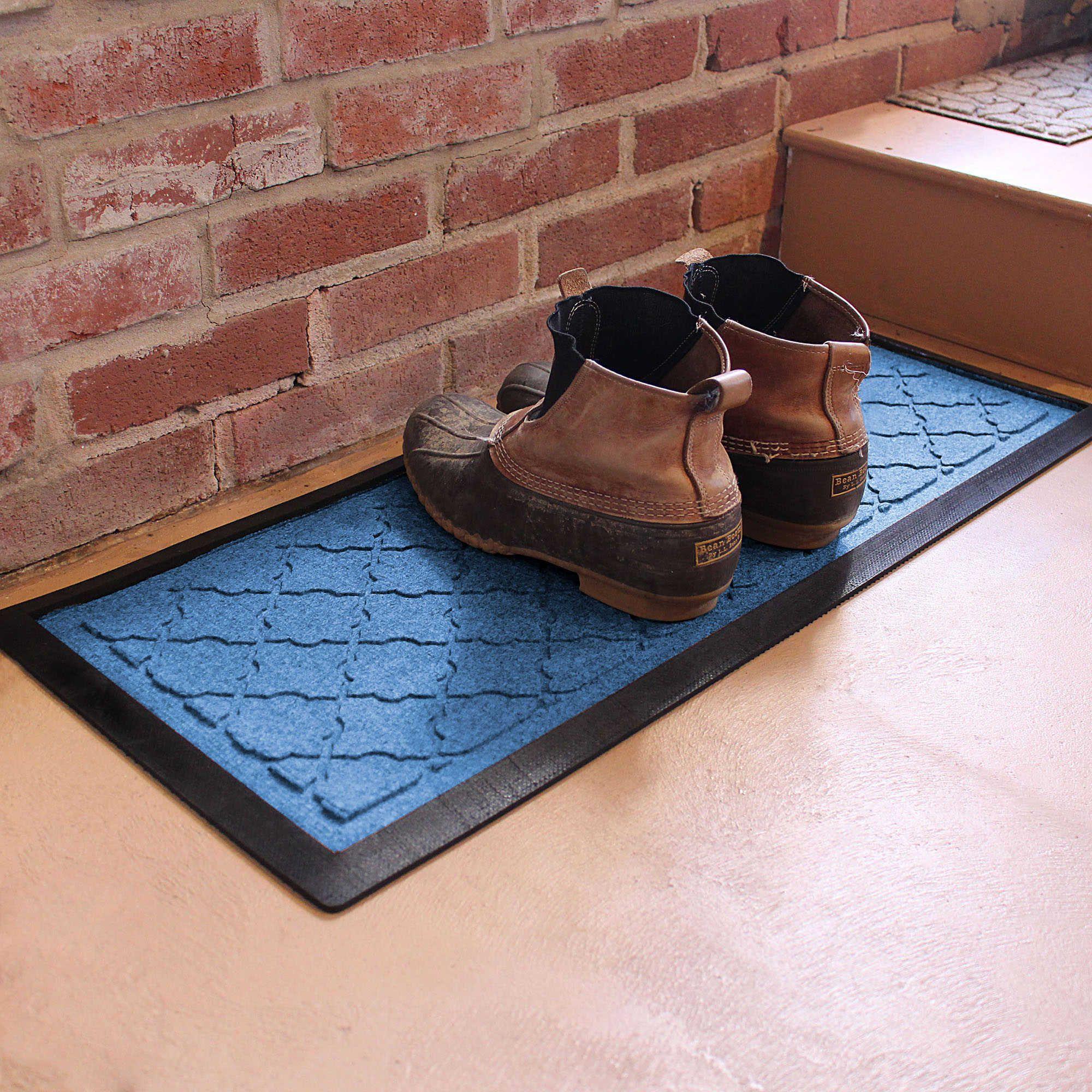Weather Guard™ Cordova 36-Inch x 15-Inch Boot Tray in Medium Blue