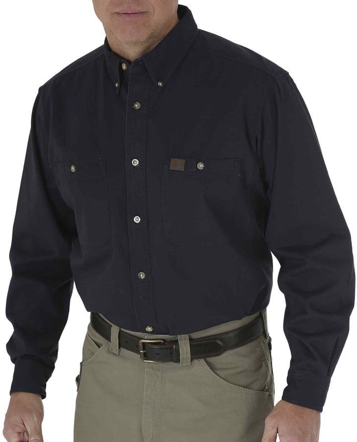 e38416d42152 Wrangler Riggs Workwear by Twill Work Shirt | Products | Work shirts ...