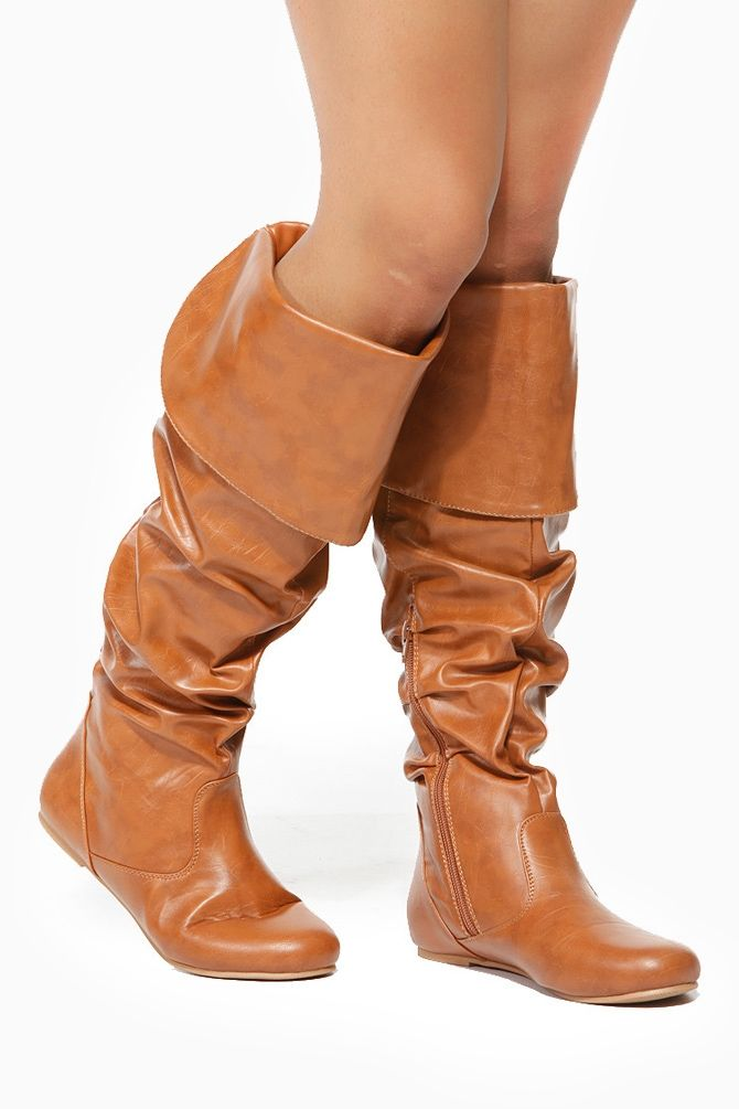 312ba2901f2 Knee High Slouch Boots