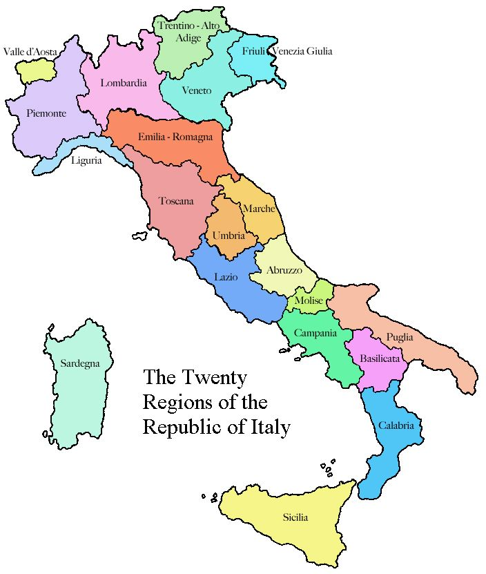 Pdf Map Of Italy.Pin By Rene Zipper On Italian Party Theme Map Of Italy Regions