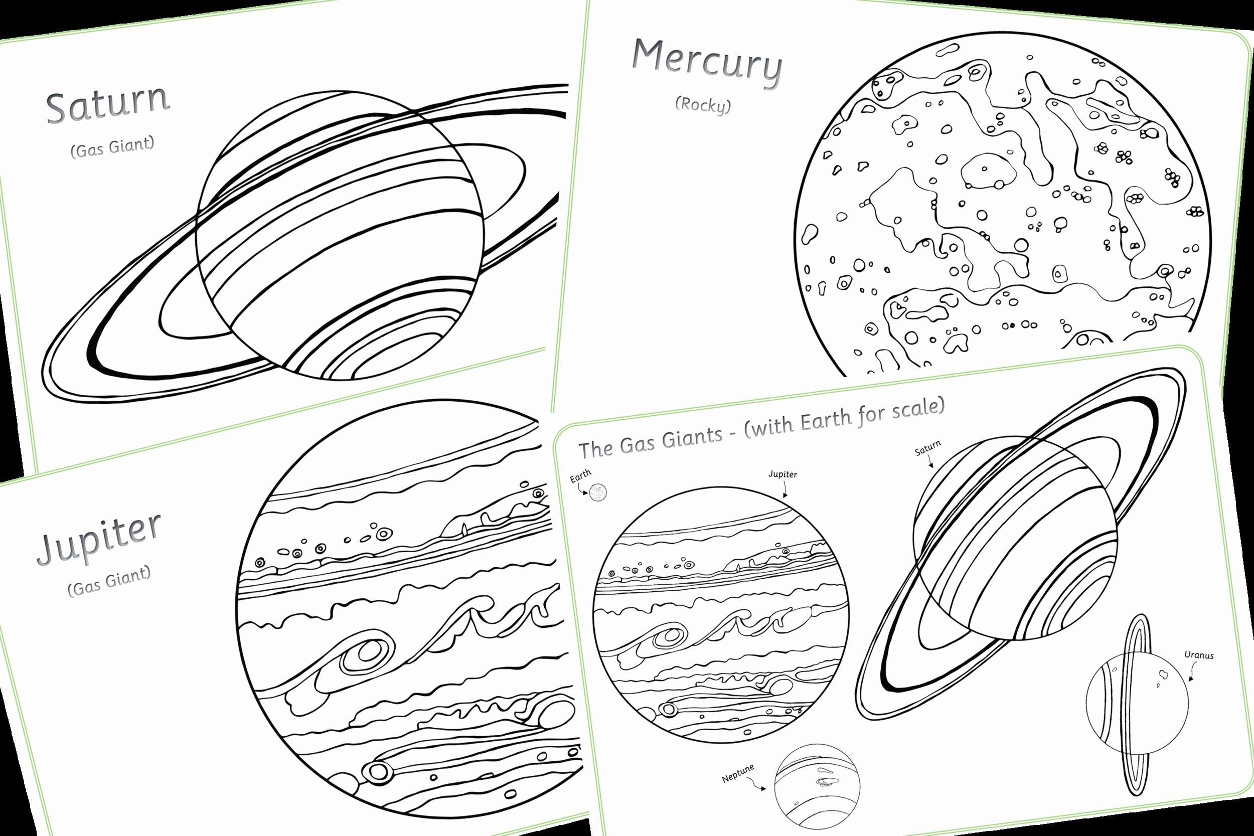 Space Coloring Pages For Preschoolers Di