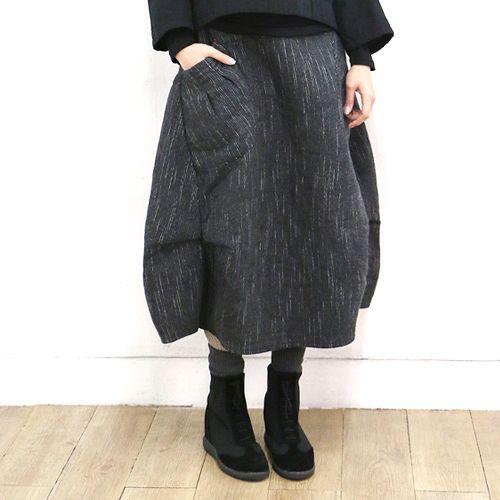 Patterned Balloon Skirt
