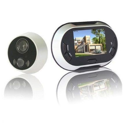 Lerway Digital Door Viewer Doorbell Security Camera Cam Doorbell Security Door Viewers Doorbell Camera