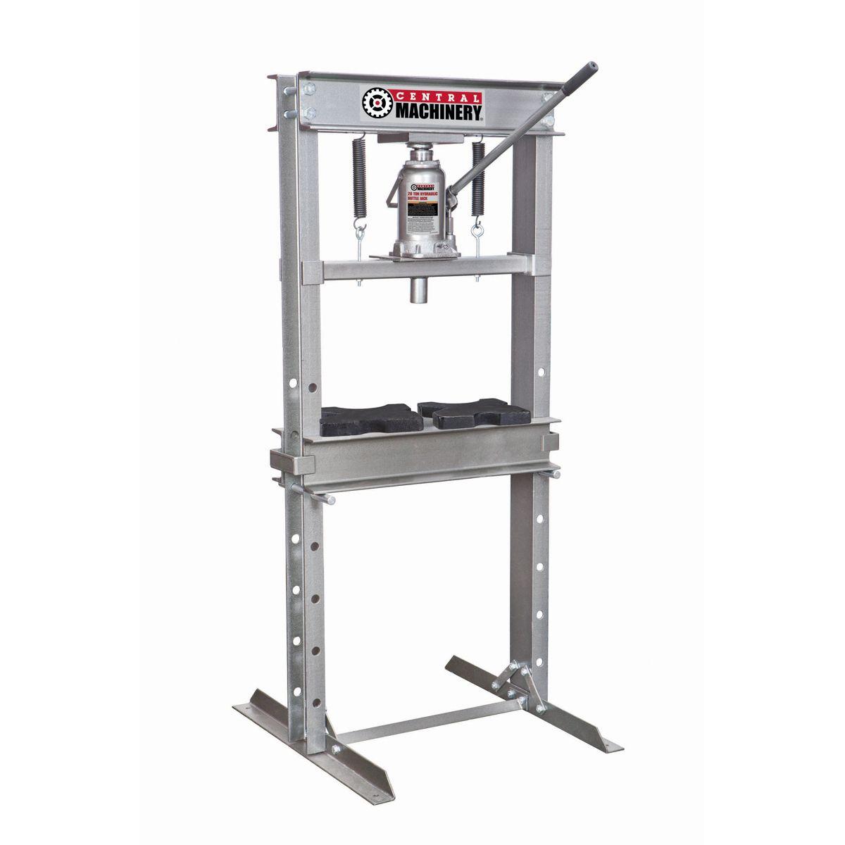 Force 100 972005 Dake 100 Ton Electrical H Frame Press Hydraulic Press Machine H Frame Hydraulic Shop Press