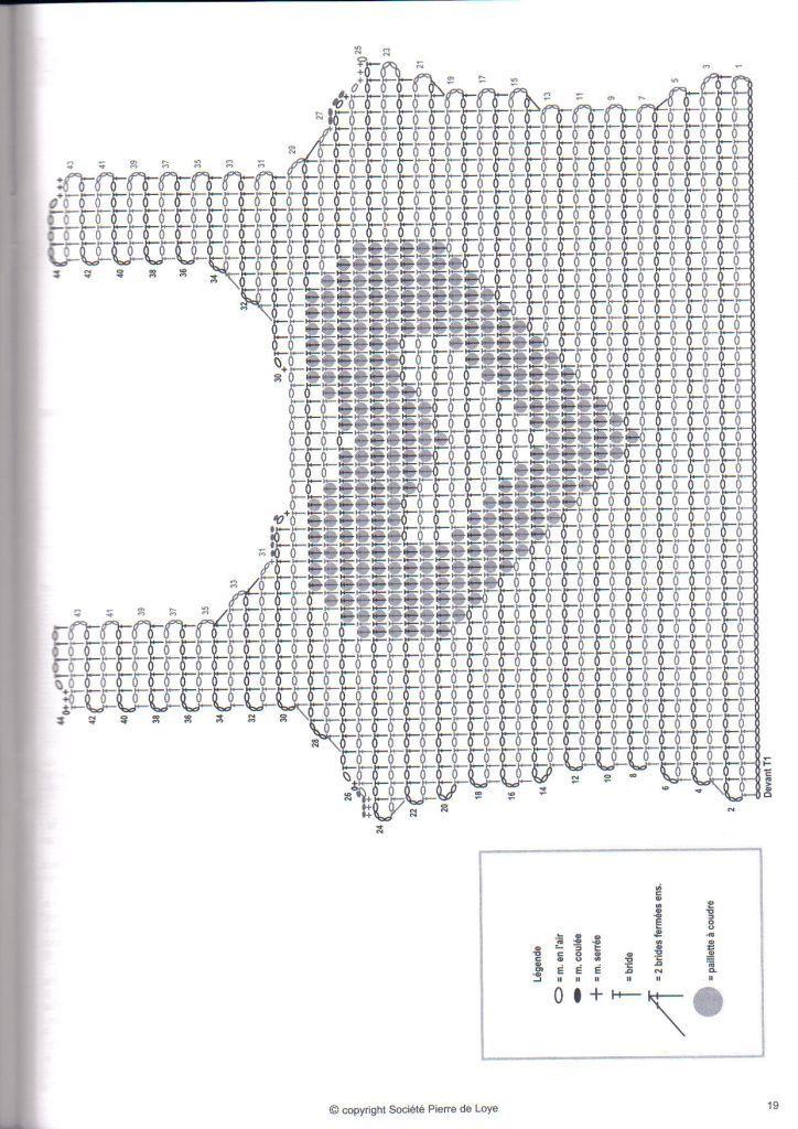 Patron Crochet Top Corazon - Patrones Crochet | Blusas Crochet ...