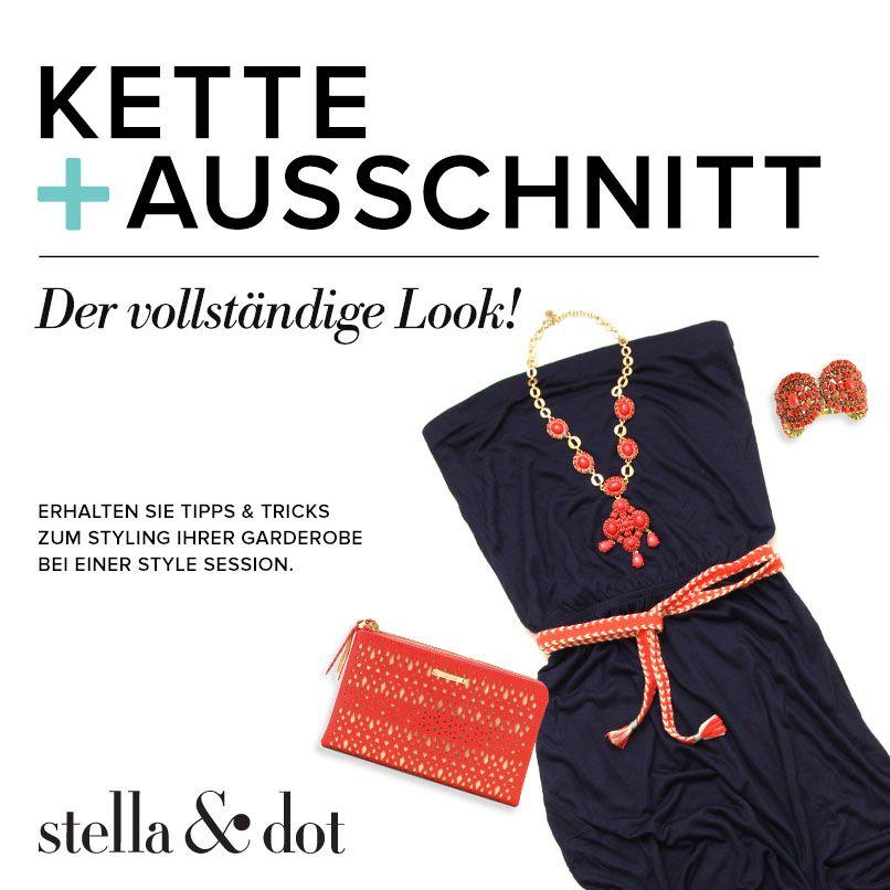 Kette + Ausschnitt | Stella & Dot