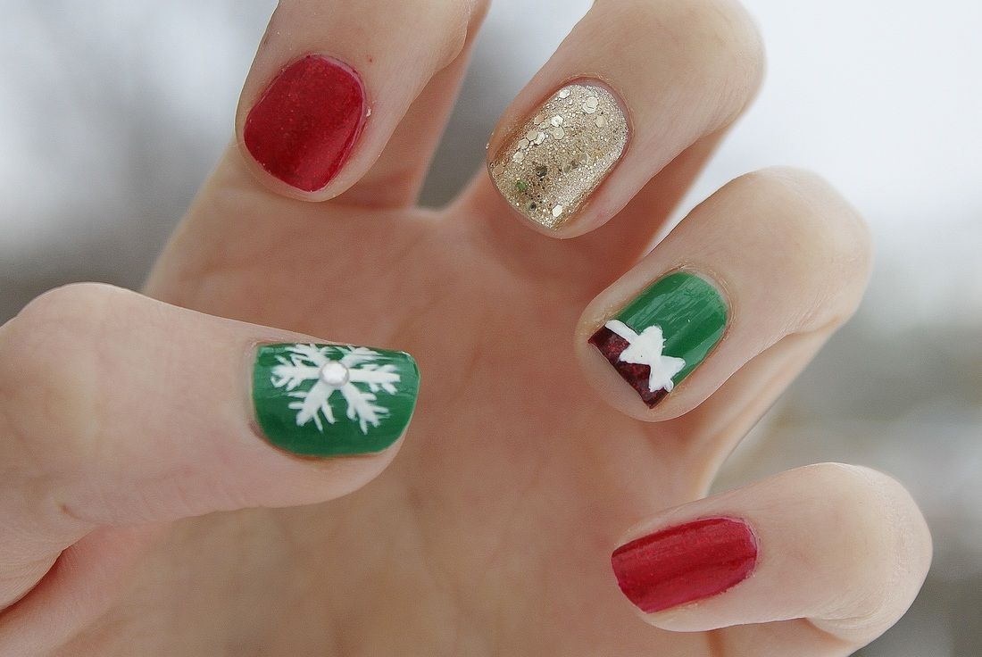Top 51 Most Beautiful Christmas Nail Art Ideas For You To Try Nail