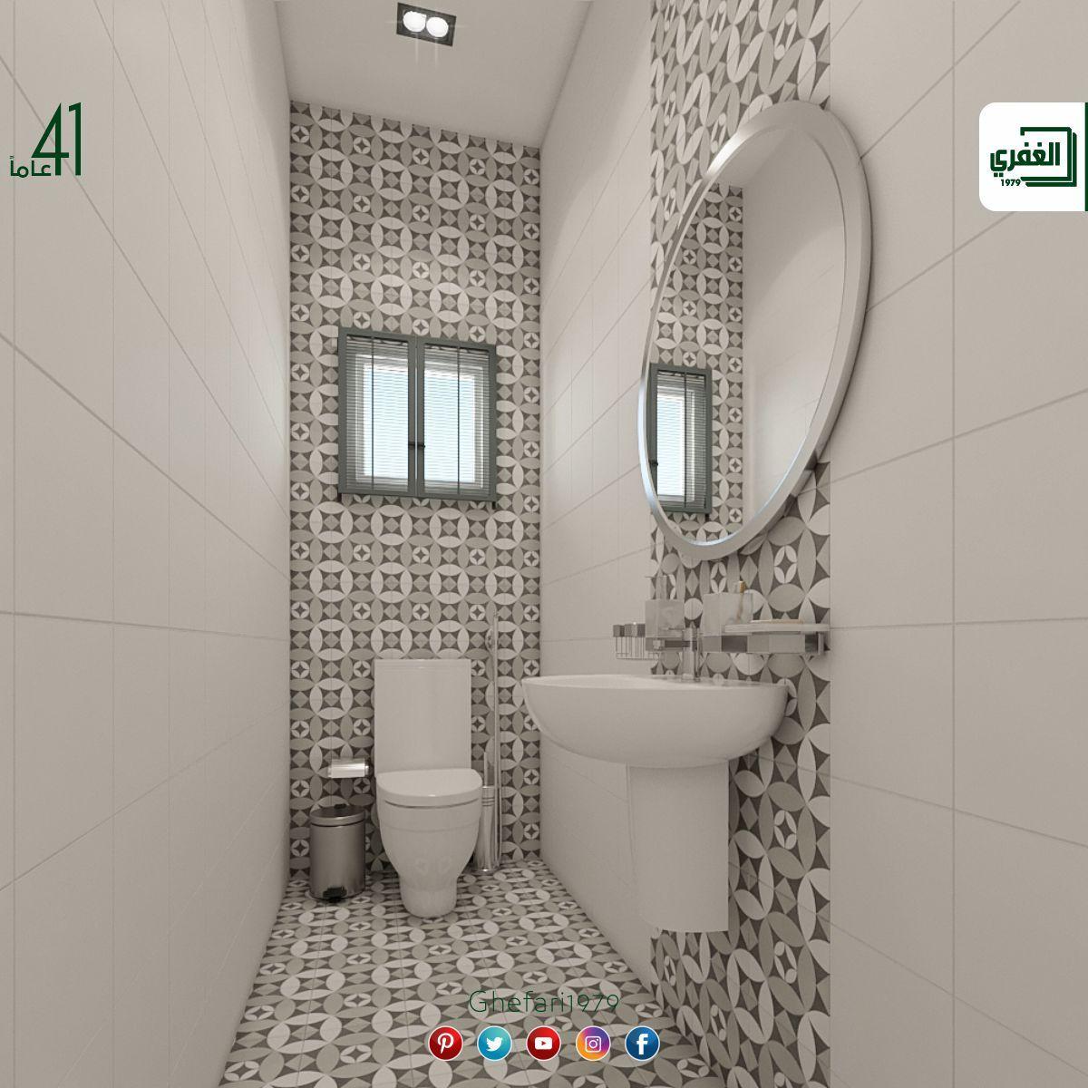 بورسلان أسباني ديكور اندلسي للاستخدام داخل الحمامات المطابخ اماكن اخرى للمزيد زورونا على موقع الشركة Round Mirror Bathroom Bathroom Mirror Bathroom Toilets