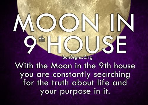moon in 9th house | Tumblr | Sun~Moon~Rising | Astrology