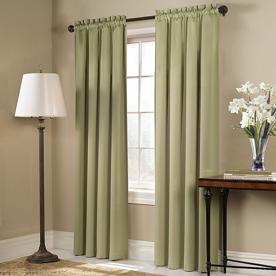 Blackstone 63 Quot Rod Pocket Room Darkening Window Curtain