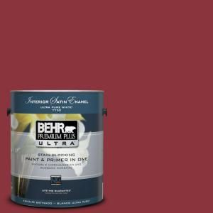 BEHR Premium Plus Ultra, Home Decorators Collection Watery Satin Enamel  Interior Paint, 775401 At The Home Depot   Mobile