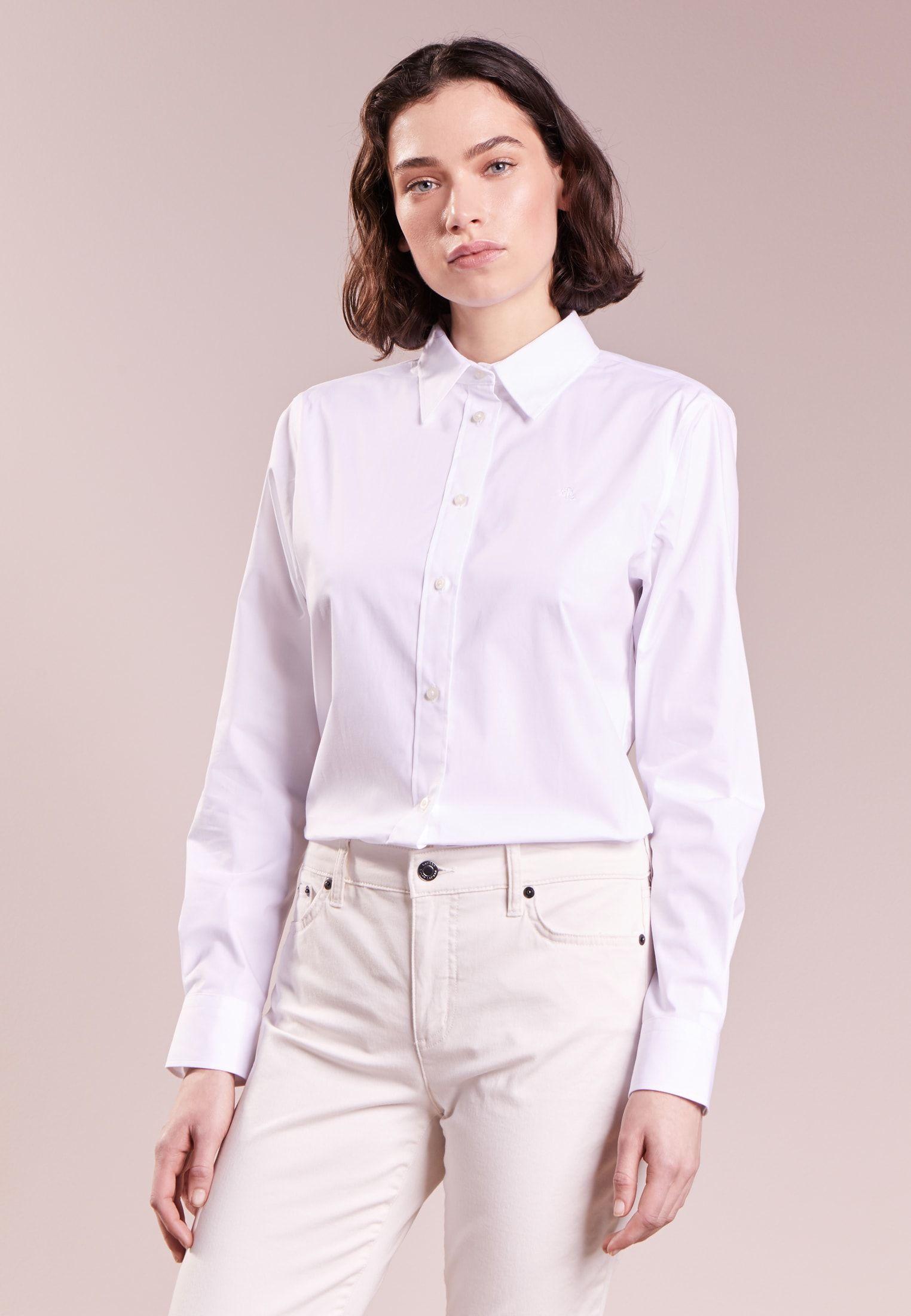 6d73ae527868c Lauren Ralph Lauren NON IRON - Camisa - white - Zalando.es