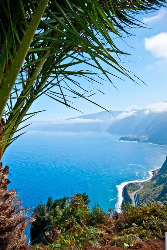 Mission Visit Madeira Island Off The Coast Of Africa In The