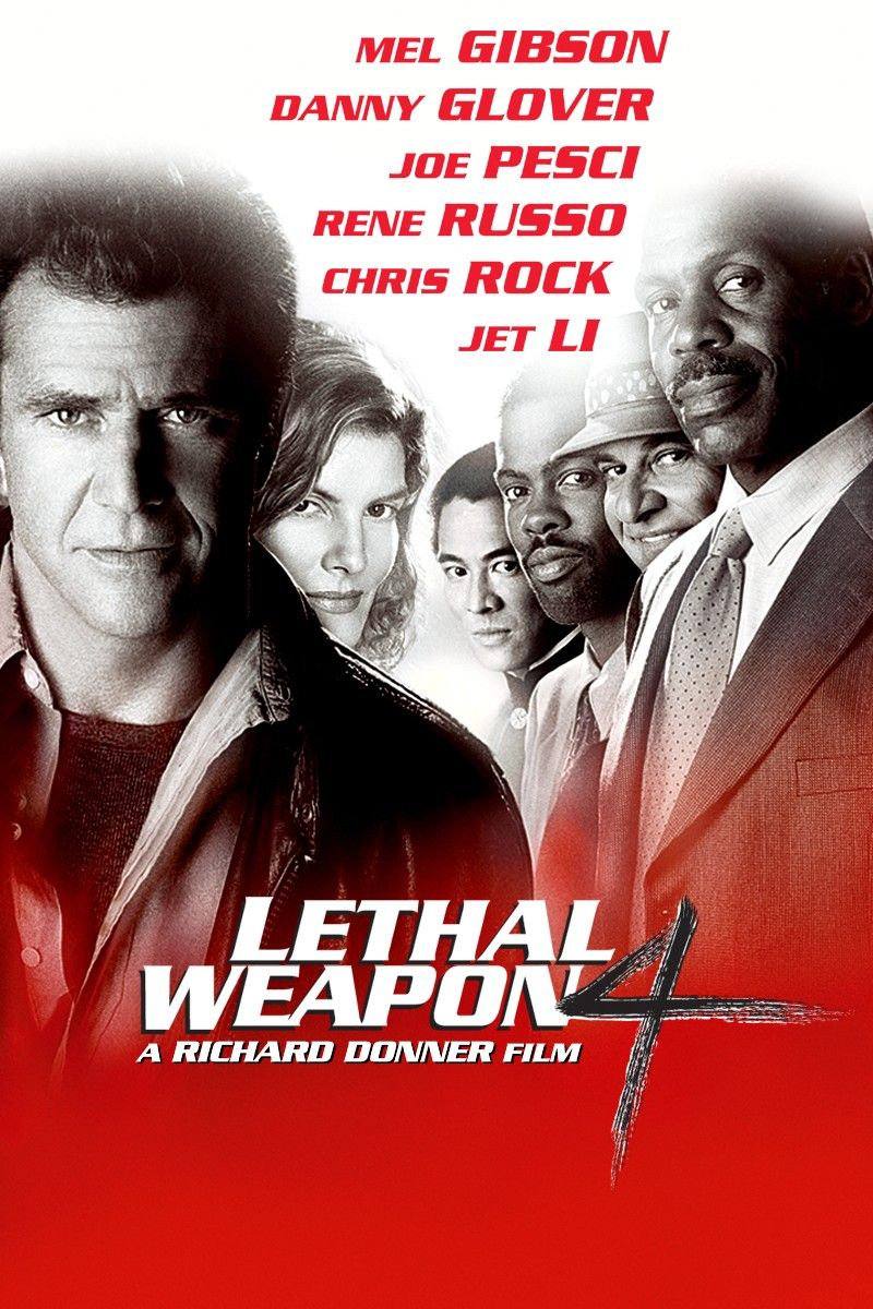 Lethal Weapon 4 1998 Lethal Weapon Lethal Weapon 4 Movies