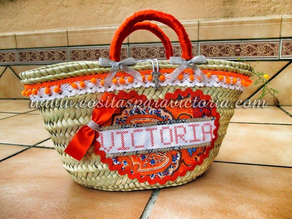 cositas para victoria cestas de mimbre decoradas