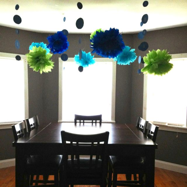 Husbands birthday party decorations Done by me d i y