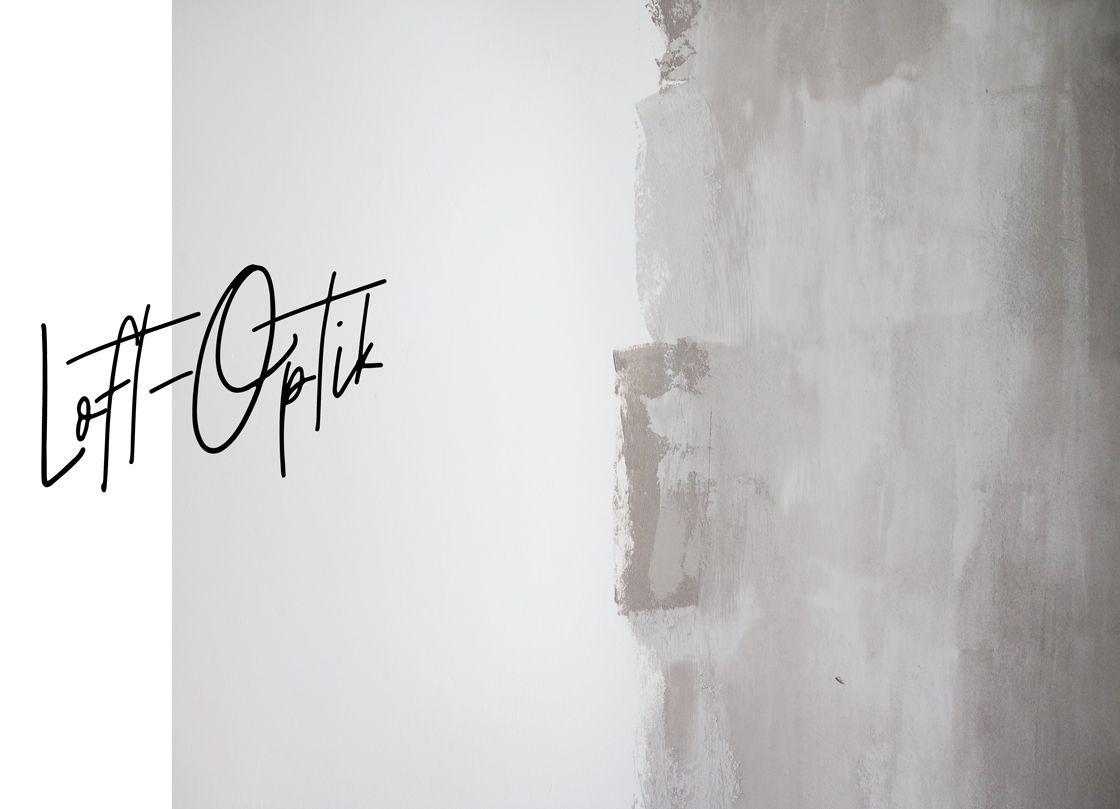 Frisch Gestrichene Wand In Loft Optik Von Schoner Wohnen Farbe Wand Farbe Kuche Neu Streichen Anleitung Perfektes Wande Streichen Schoner Wohnen Farbe Wand