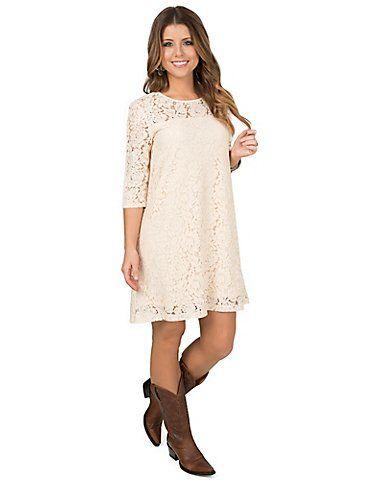 Bridesmaid Dress Idea For Chelsea Wrangler Womens Cream