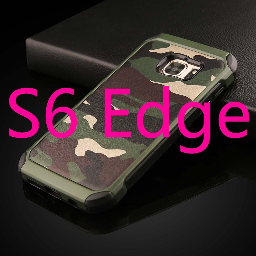 2 in 1 Army Camo Armor Cases for Samsung Galaxy