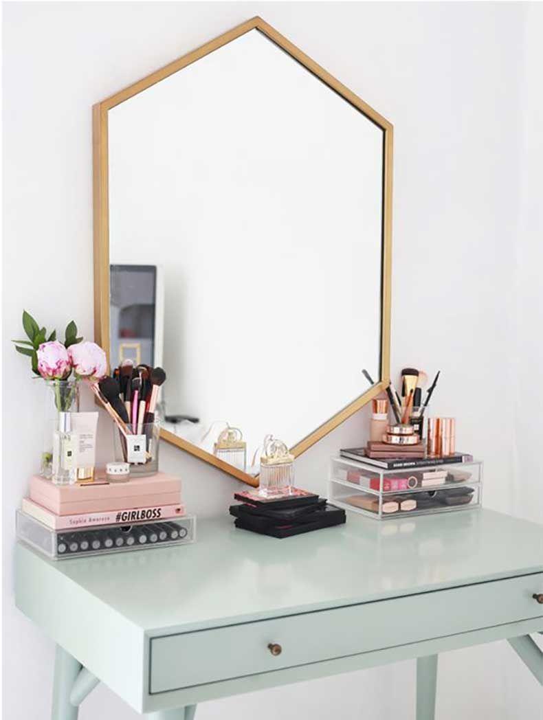 lindas ideas para organizar tu maquillaje bedrooms room decor