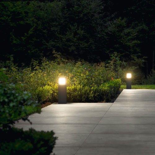 Led Garden And Pathway Bollard 7330 Garden Lighting Design Lighting Your Garden Led Gardening
