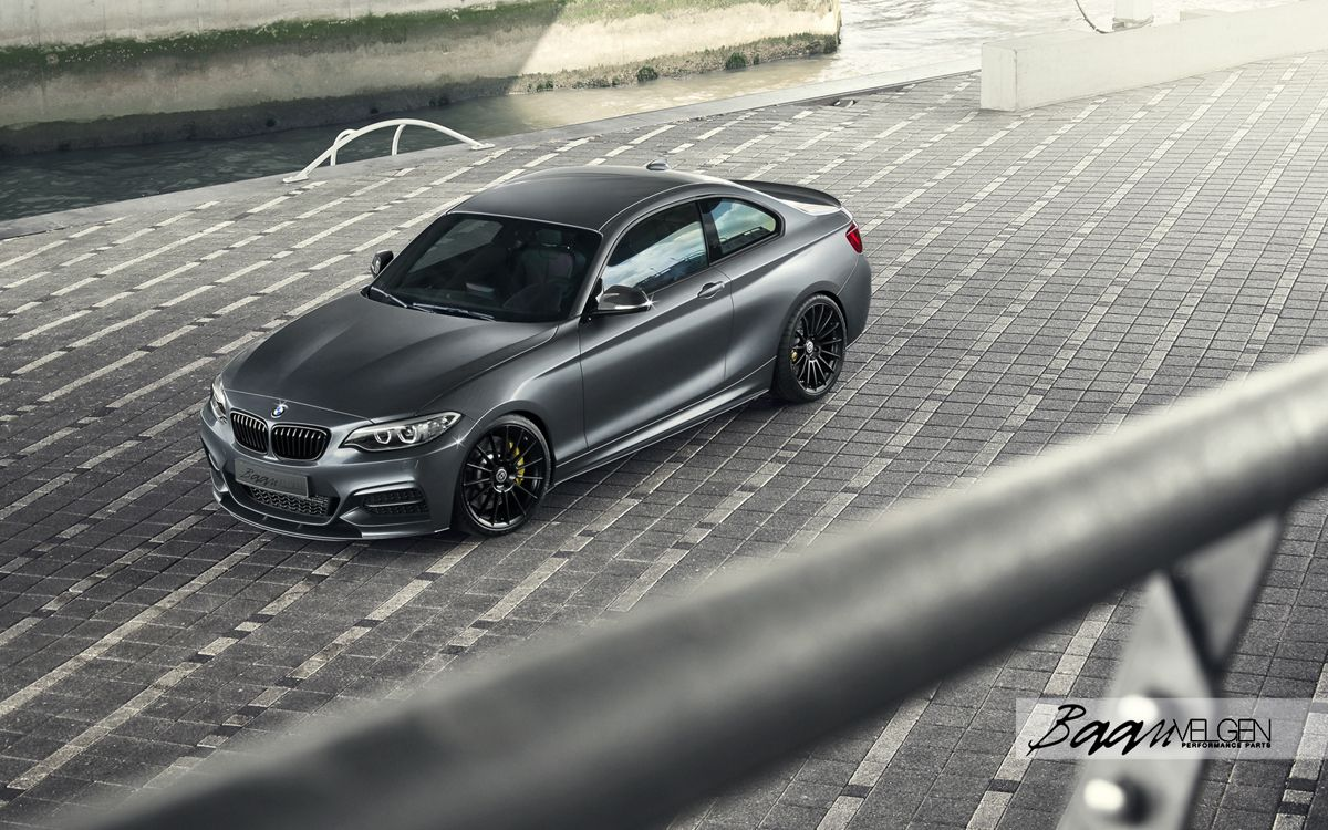 Baan Velgen Turns Up The Bmw M235i Track Edition With Hre
