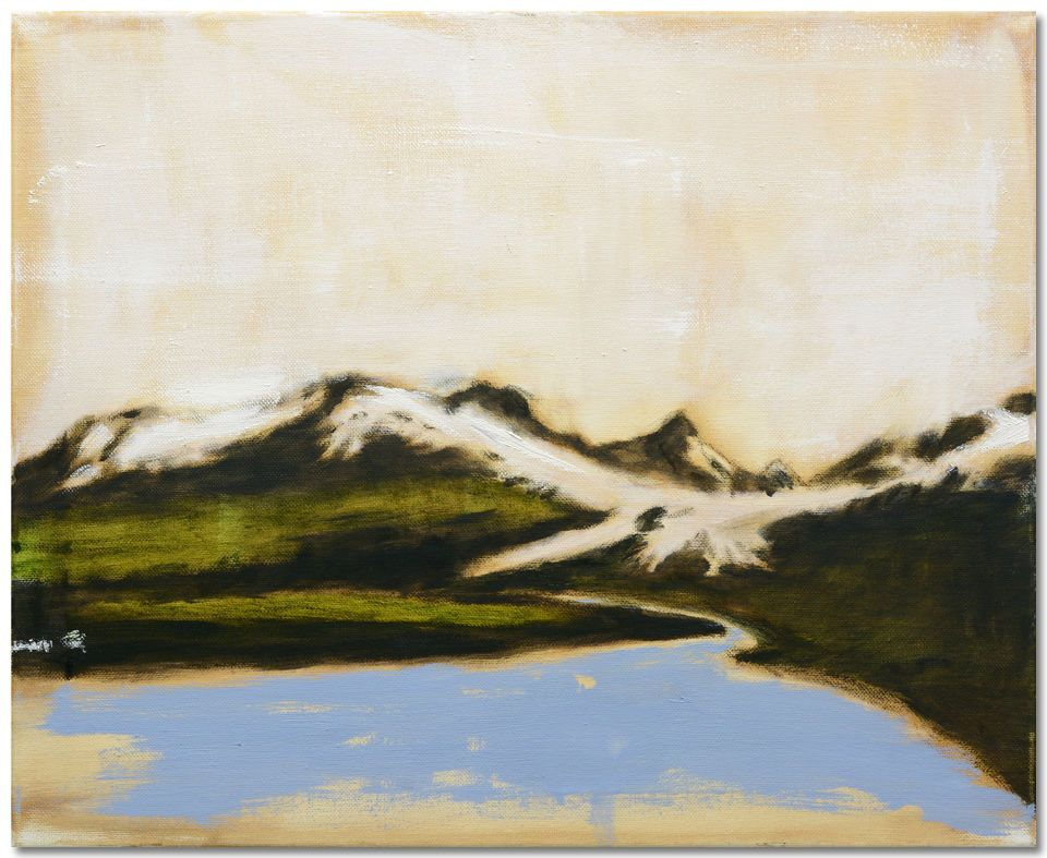 "Michael Dowling | ""Untitled Landscape 1"" I Oil, 16 x 20"""